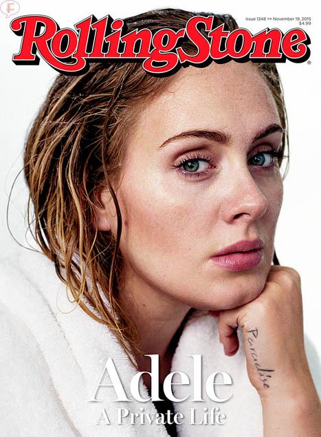 Adele en Rolling Stone magazine
