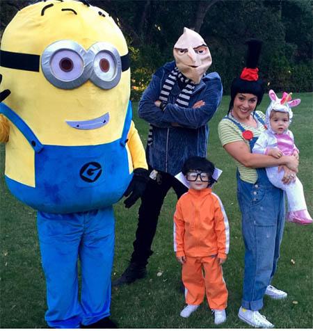 Celebridades en Halloween 2015