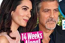 George y Amal Clooney EMBARAZADOS! [OK!]