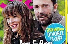 Jennifer Garner y Ben vuelven!  [Star]