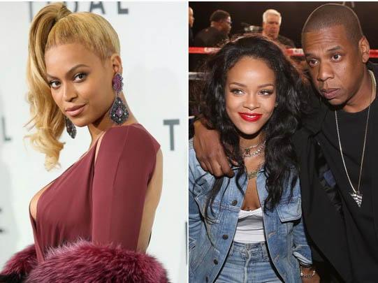 Beyonce y Jay Z separados por Rihanna?