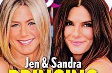 Jen Aniston & Sandra Bullock con sus bebés a casa! [L&S]