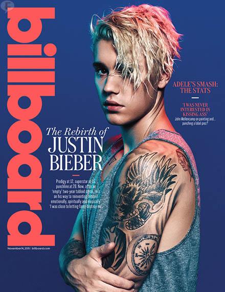 Justin Bieber: el renacimiento [Billboard]