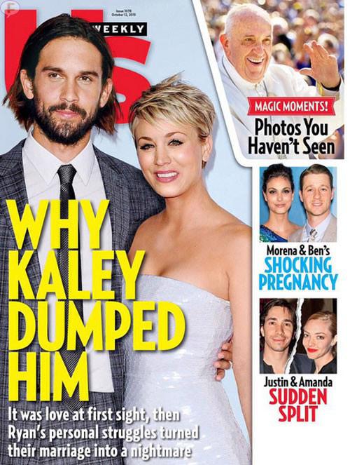 Por qué Kaley Cuoco se divorció de Ryan Sweeting? [Us]