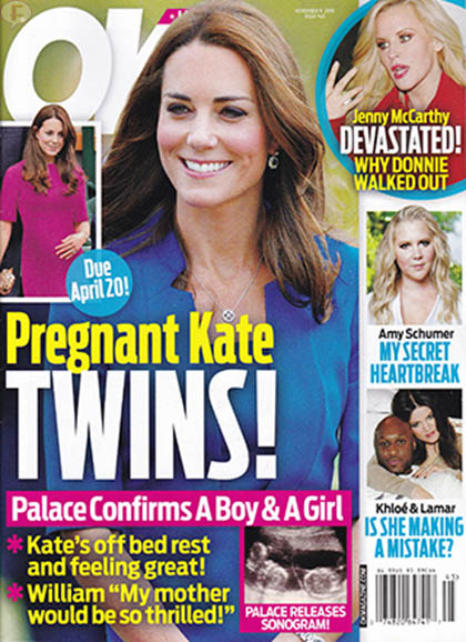 Kate Middleton embarazada de gemelos! [OK!]
