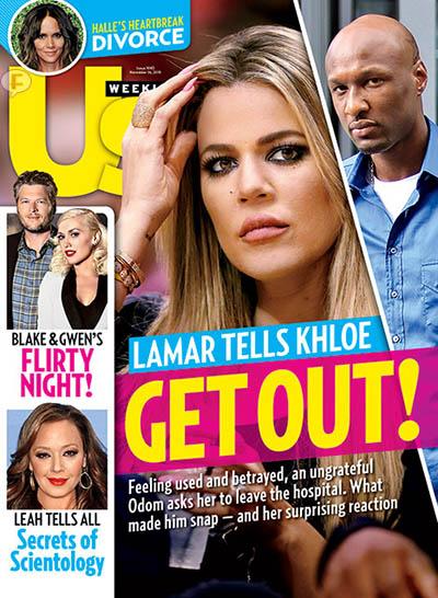 Lamar Odom a Khloe: Lárgate!! Get out! [Us]