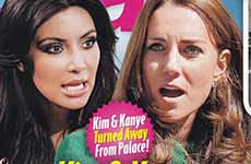 Kate Middleton desprecia a Kim Kardashian? [Star]