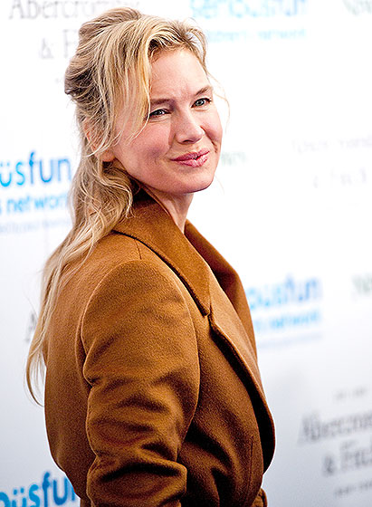 Renee Zellweger luciendo normal?