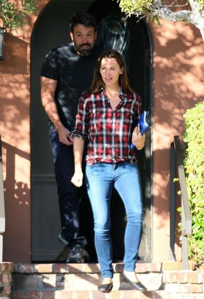 Jen Garner y Ben Affleck: Thanksgiving juntos!