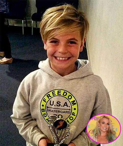 Britney Spears orgullosa de Sean Preston!