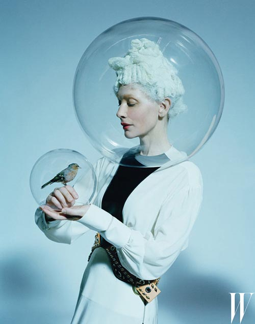 Cate Blanchett transformada en W magazine