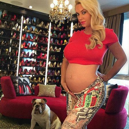 Coco Austin defiende su baby bump - Gossip Time!