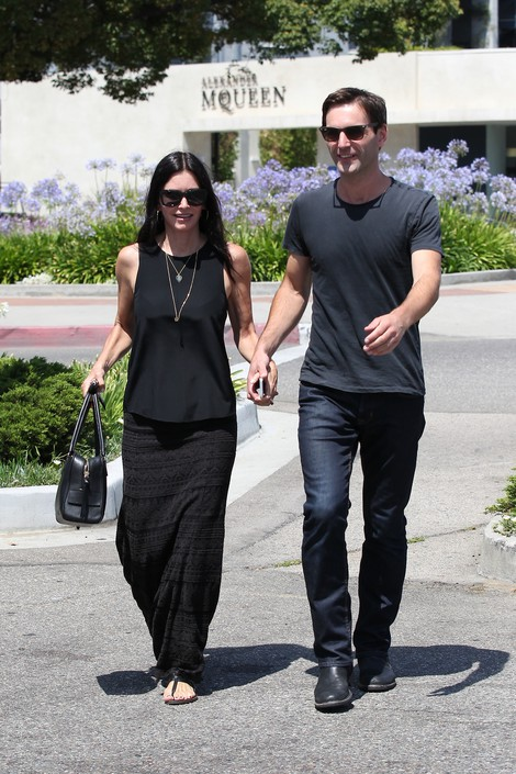 Courteney Cox y Johnny McDaid terminaron!