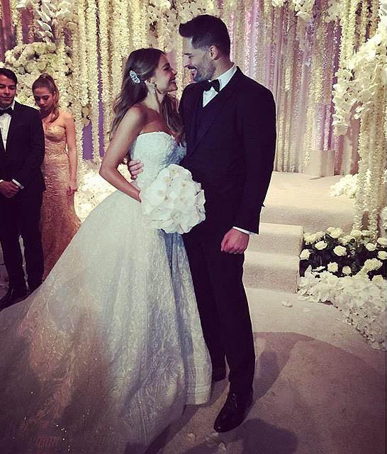 Fotos boda de Sofia Vergara y Joe Manganiello