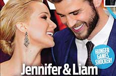 Jennifer Lawrence & Liam Hemsworth: Romance [OK]