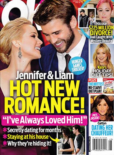 Jennifer Lawrence & Liam Hemsworth: Romance [OK]