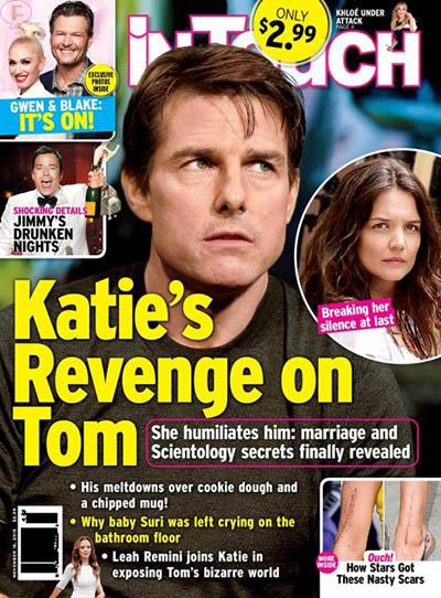 Katie Holmes: la Venganza de Tom Cruise? [Intouch]