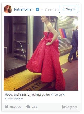 Katie Holmes no se arrepiente de nada