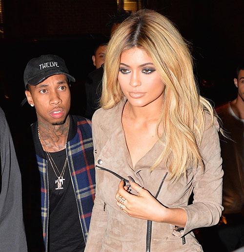 Kylie Jenner y Tyga volvieron! Pista?