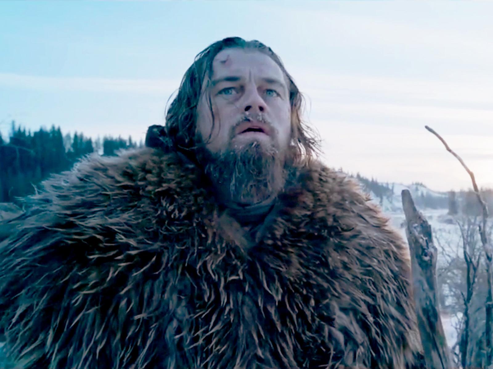 Leonardo DiCaprio violado por oso 'The Revenant'? WTF?