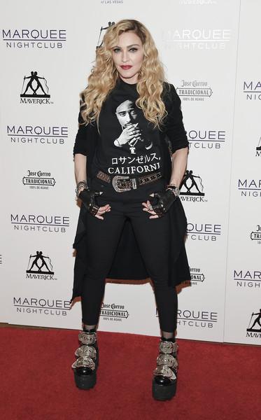 Madonna dice que Sean Penn jamás la golpeó NEVER!