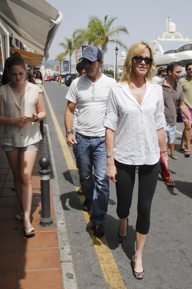 Melanie Griffith: mil al mes de Antonio Banderas