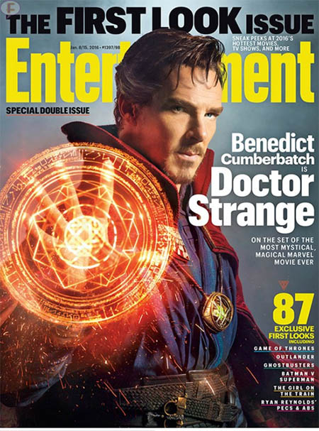 Benedict Cumberbatch como el Doctor Strange