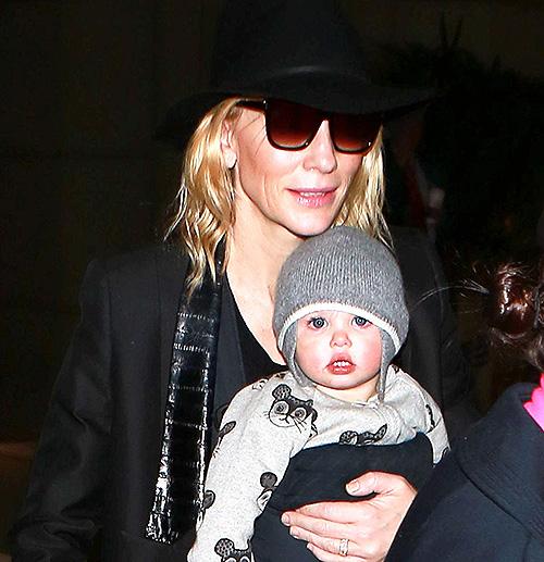 Cate Blanchett y su hijita Edith - SO CUTE!!!