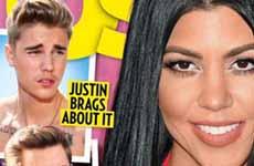 Kourtney Kardashian y Justin Bieber: Saliendo, romance?