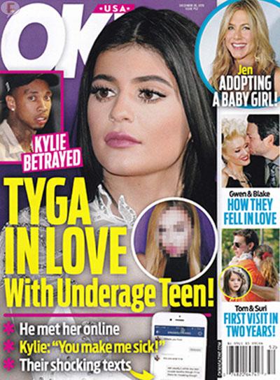 Kylie Jenner: Tyga la engaña con una menor de edad [OK]
