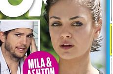 Mila Kunis y Ashton Kutcher: La gran traición!! [OK!]