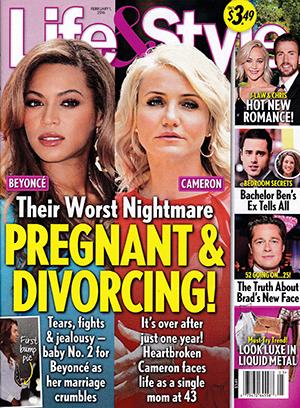 Beyonce & Cameron: Embarazadas y Divorciándose!