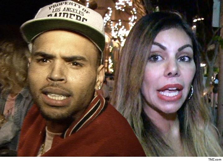 Chris Brown investigado por golpear a una mujer