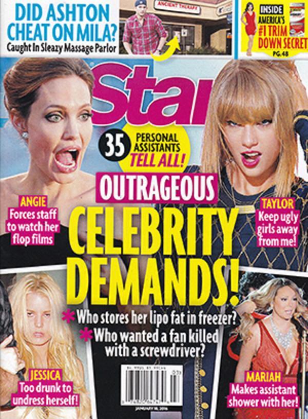 Demandas insólitas de celebridades!! - [Star]