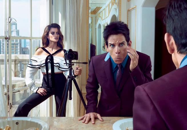 Derek Zoolander y Penelope Cruz en Vogue