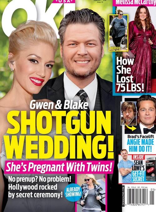 Gwen Stefani y Blake se casan! Gemelos! [OK!]