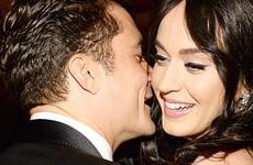 Katy Perry y Orlando Bloom en los Golden Globes