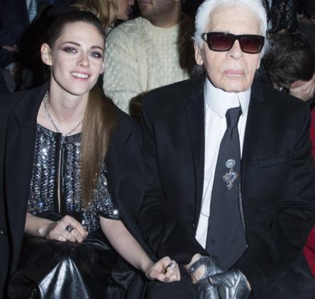 Karl Lagerfeld dijo a Kristen Stewart que bajara de peso?