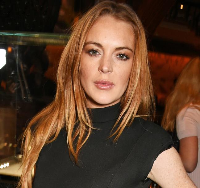 Lindsay Lohan escupe e insulta a un bartender