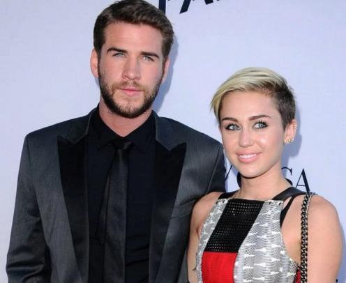 Miley Cyrus y Liam Hemsworth juntos en 2016!
