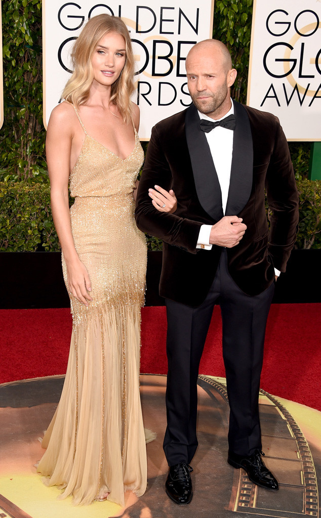 Jason Statham comprometido con Rosie Huntington-Whiteley