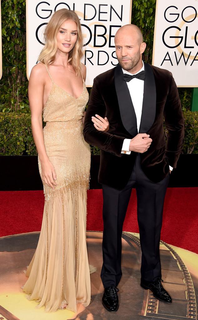 Jason Statham comprometido con Rosie Huntington-Whiteley