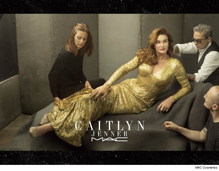 Caitlyn Jenner se une a MAC Cosmetics