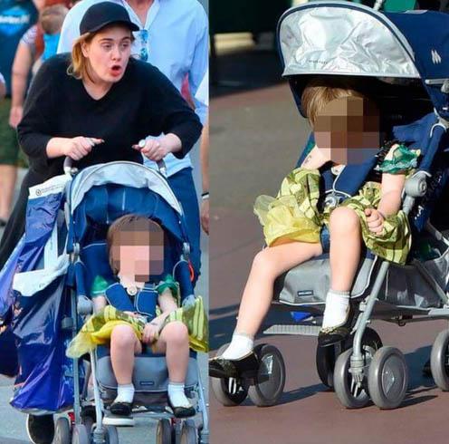 Adele viste a su hijo como la Princesa Anna (Frozen)