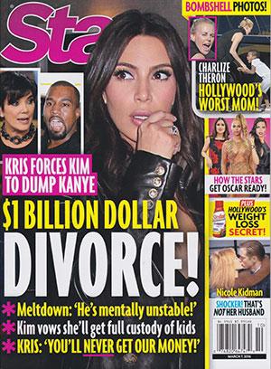 Kim Kardashian anuncia divorcio [InTouch & Star]