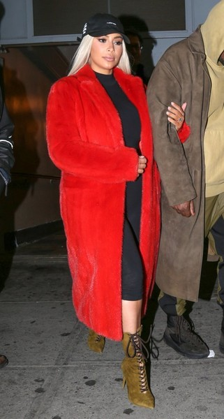 kim kardashian red coat fug as hell