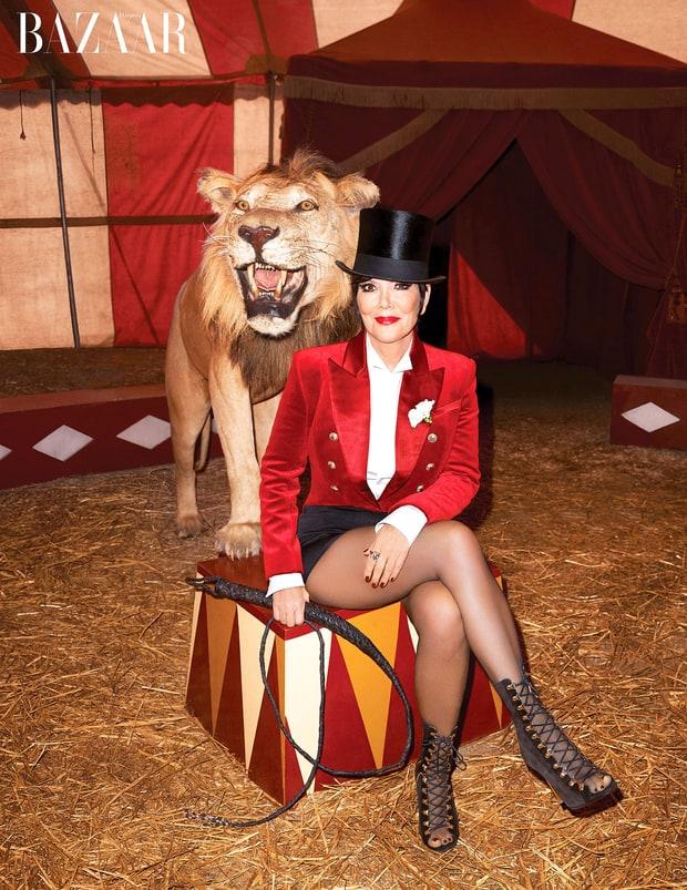 Kris Jenner extraña a Robert Kardashian: Harper's Bazaar