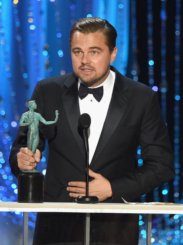 SAG Awards 2016: Leonardo DiCaprio y Spotlight