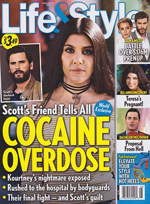 Scott Disick: Sobredosis de cocaína [L&S]