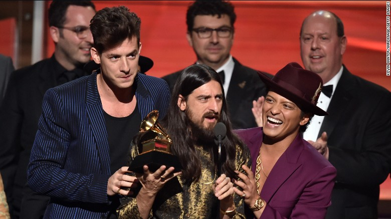 Ganadores Grammy 2016: Taylor, Meghan, Bruno